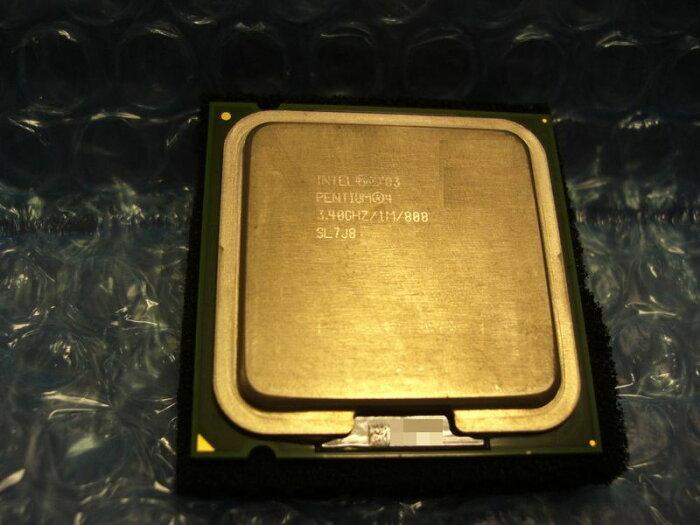 中古CPU用 Pentium4 550(3.40GHz) 3.4GHz/1M/800/LGA775 SL7J8