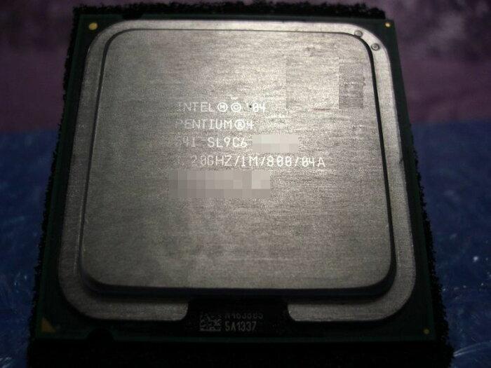 中古CPU用 Pentium4 541(3.20GHz) 3.2GHz/1M/800/LGA775 SL9C6