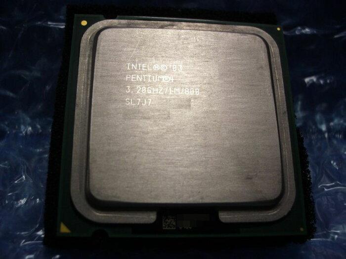 中古CPU用 Pentium4 540/540J(3.20GHz) 3.2GHz/1M/800/LGA775 SL7J7