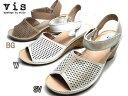 《SALE品》【あす楽】ビス Vis ウエッジソール ストラップサンダル レディース 靴