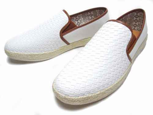 【あす楽】B.C.R.ビーシーアール編み込み風スリッポンカジュアルシューズ【メンズ・靴】