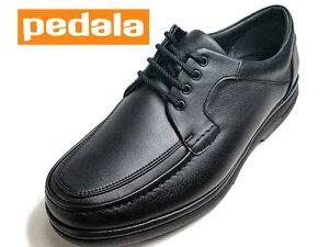 【あす楽】アシックス ペダラ asics PEDARA ウォーキングシューズ レースアップシューズ ブラック【メンズ・靴】