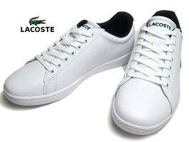 【あす楽】ラコステLACOSTESMA033LCARNABYEVOTRI1ホワイトネイビーレッドスニーカーメンズ靴