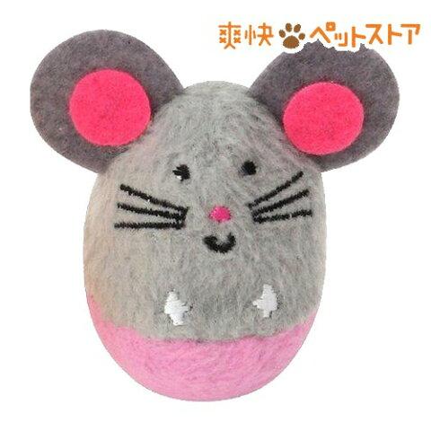 マルカン ゆらりんトイズ アニマルシリーズ ネズミ(1コ入)[爽快ペットストア]