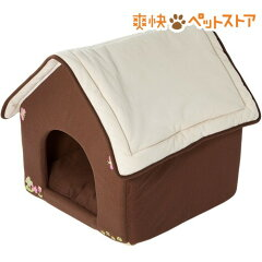 PuChiko ハウス チョコミルク / PuChiko / 犬 猫 ペットベッド ハウス もぐる あったか 冬用☆...