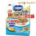 コンボ 猫下部尿路の健康維持 まぐろ味・減塩かつお節添え(120g*5袋入*12コセット)【コンボ(COMBO)】[爽快ペットストア]