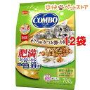 コンボ 肥満が気になる猫用 まぐろ味・かつお節・小魚添え(700g*12コセット)【コンボ(COMBO)】[爽快ペットストア]