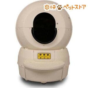 キャットロボット ベージュ 全自動 猫トイレ メーカー1年保障 / ペット用品☆送料無料☆キャッ...
