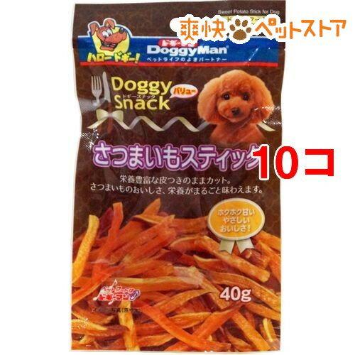 ドギーマン ドギースナックバリュー さつまいもスティック(40g*10コセット)【ドギーマン(Doggy Man)】[爽快ペットストア]