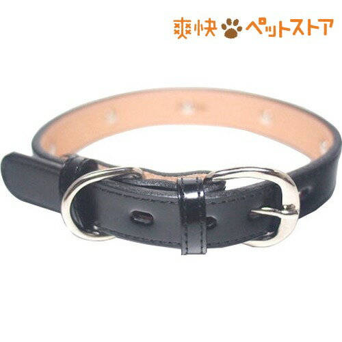 犬用革首輪 Sサイズ AT-131 黒(1コ入)[爽快ペットストア]