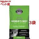 猫砂 ワールドベストキャットリッター クランピングフォーミュラー(6.35kg*3コセット)【d_wbcl】【ワー...