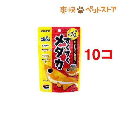 ひかり すくすくメダカ(40g*10コセット)【ひかり】[爽快ペットストア]