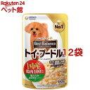 ベストバランス トイ・プードル用 鶏ささみ・緑黄色野菜・キャベツ入り(60g*1