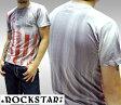 【セール】 ロックスター メンズ Tシャツ ROCKSTAR sushi FLC002 グレー 半袖 トップス インポート 海外 LAセレブ 着用 ROCK ロック PUNK パンク サファリ スタイル セレブ ファッション 雑誌 掲載 ハリウッド ストリート カジュアル セレカジ アメカジ ブランド