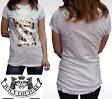 ジューシークチュール レディース Tシャツ ホワイト JUICY COUTURE インポート LAセレブ パリスヒルトン ファッション 海外セレブ 多数着用 ハリウッド セレブ LAカジュアル アメカジ セレカジ 正規品 ROCK ロック スタイル ブランド