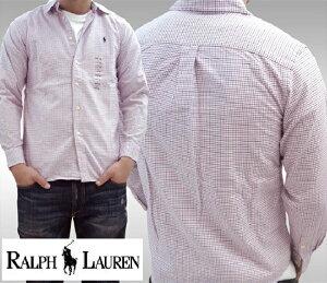 0dce704e POLO RALPH LAUREN ポロ ラルフローレン BOYS ボーイズ 長袖 チェックシャツ MU RED ボタンシャツ シャツ ラルフ  カジュアル アメカジ スタイル ファッション
