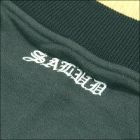 SALUDサルーメンズスウェットジップジャケット522ブラックストリートローライダーチカーノファッションウェアーカジュアルスタイルブランドシャネルズラッツ&スターHIPHOPヒップホップダンスウェアB系服大きいサイズセール2L2XL3L3XL4L