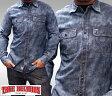 トゥルーレリジョン メンズ TRUE RELIGION WORKWEAR デニムシャツ SL セレブ 愛用 ブランド ファッション アメカジ インポート カジュアル ヴィンテージ スタイル 正規 商品