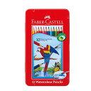 ファーバーカステル赤缶水彩色鉛筆12色セット