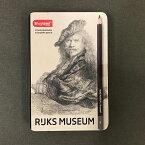 【あす楽対応】アムステルダム国立美術館(RIJKS MUSEUM)コラボレーション 名画シリーズレンブラント「自画像」グラファイト鉛筆12硬度セット