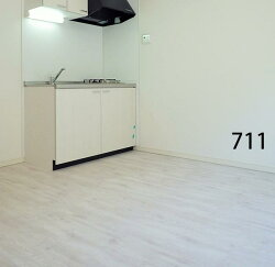 フローリング711の施工イメージ