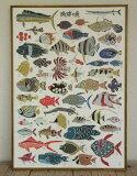 【紅型工房べにきち】ポスター琉球の魚