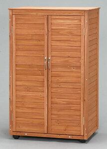 【送料無料】木製収納庫WSH-1200【幅75×高さ120】【屋外収納/ガーデニング/アウトドア/DIY/】【アイリスオーヤマ】【がんばろう!宮城】