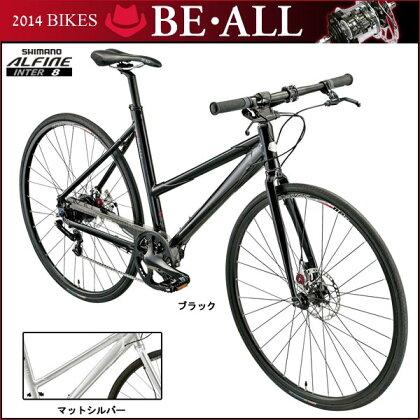 【7/1610:00から開始!エントリーでポイント10倍!】ビーオールクロスバイクBR-1【700C】【内装変速】【街乗り】【自転車】【BE・ALL】【P01Jul16】