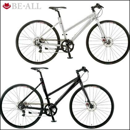 ビーオールクロスバイクBR-1【700C】【内装変速】【街乗り】【自転車】【BE・ALL】