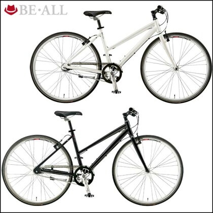 【7/1610:00から開始!エントリーでポイント10倍!】ビーオールクロスバイクBR-2LADY【700C】【女性用】【内装変速】【街乗り】【自転車】【BE・ALL】【P01Jul16】