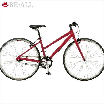 ビーオールクロスバイクBR-2LADY【700C】【女性用】【内装変速】【街乗り】【自転車】【BE・ALL】