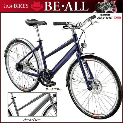 ビーオール2014クロスバイクBS26-Di2【26inch】【Di2システム採用】【内装変速】【街乗り】【自転車】【BE・ALL】