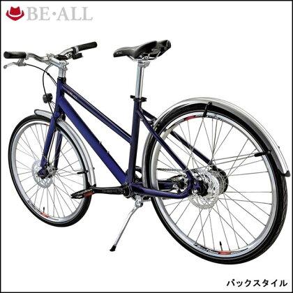 ビーオールクロスバイクBS26-Di2【26inch】【Di2システム採用】【内装変速】【街乗り】【自転車】【BE・ALL】
