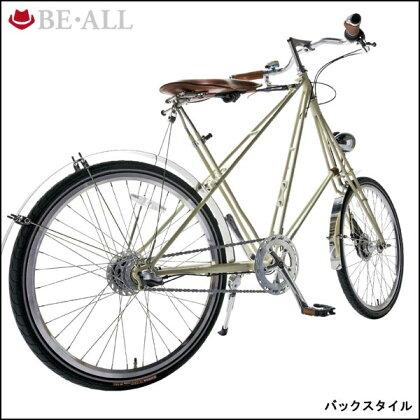 """ビーオール小径車DUKE24""""【24inch】【内装変速】【街乗り】【自転車】【BE・ALL】"""