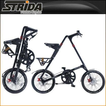 ストライダ折りたたみ自転車EVO(MATTBLACK)【小径車】【STRIDA】