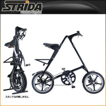 ストライダ折りたたみ自転車LT(BLACK)【小径車】【STRIDA】