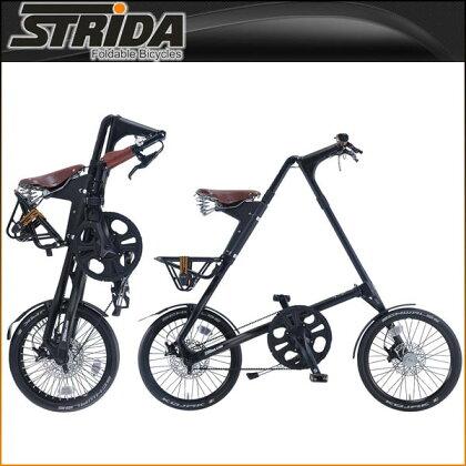 【7/1610:00から開始!エントリーでポイント10倍!】ストライダ折りたたみ自転車SX(MATTBLACK)【小径車】【STRIDA】【P01Jul16】