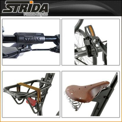 ストライダ折りたたみ自転車SX(MATTBLACK)【小径車】【STRIDA】