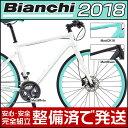 スポーツ&アウトドア通販専門店ランキング8位 ビアンキ 2018年モデル ROMA 2(ローマ2)【クロスバイク】【Bianchi】