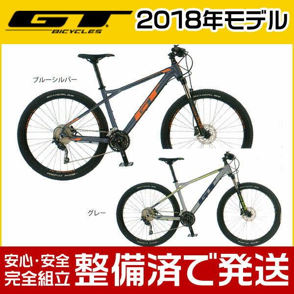 【ポイント6倍!】GT(ジーティー) 2018年モデル AVALANCHE COMP/アバランチェ コンプ【27.5インチ】【MTB/マウンテンバイク】