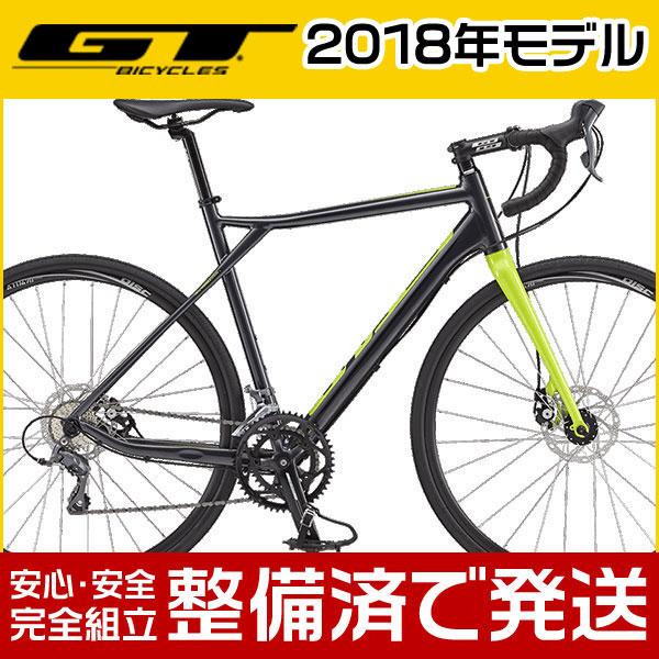 【ポイント6倍!】GT(ジーティー) 2018年モデル GRADE ALLOY CLARIS/グレード アロイ クラリス【ロードバイク/グラベルロード】【2017年継続モデル】