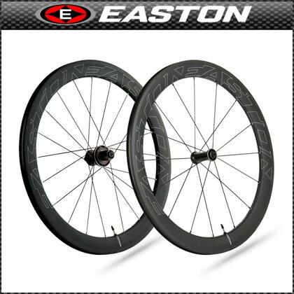 EASTON(イーストン)EC90AERO55チューブレスクリンチャーホイールフロント【700C】【ロード用】【カーボン】【ホイール】【自転車用】