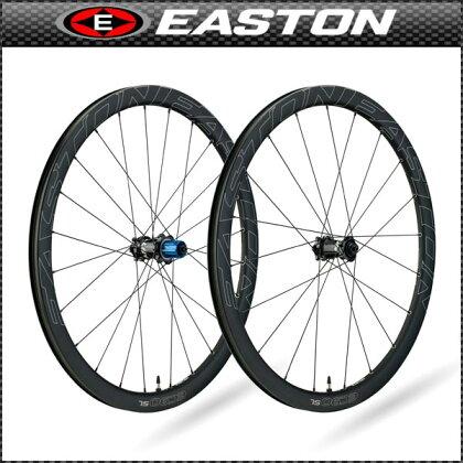 EASTON(イーストン)EC90SLDiscチューブレスクリンチャーホイールフロント【700C】【ロード用】【カーボン】【ホイール】【自転車用】