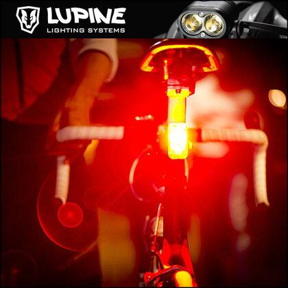 ルパンLEDテールライトRotlichtロートリヒト【ルパン充電式高輝度LEDライト】【LUPINE】