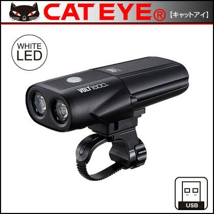 キャットアイHL-EL1010RC(VOLT1600)USB充電式ライト【フロント用】【1600ルーメン】【CATEYE】