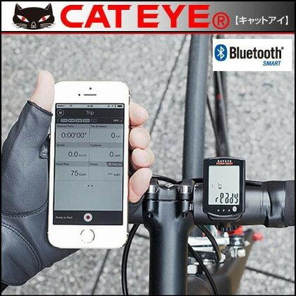 キャットアイサイクルコンピューターCC-RD500Bストラーダスマートスピード/ケイデンスセンサーセット【Bluetooth対応】【CATEYE】