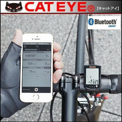 キャットアイサイクルコンピューターCC-RD500Bストラーダスマート心拍/スピード/ケイデンスセンサーセット【Bluetooth対応】【CATEYE】