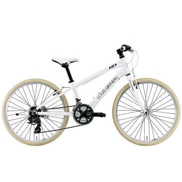 ルイガノ J24クロス LG WHITE 24インチ 子供用自転車 LOUIS GARNEAU J24 Cross