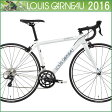 【ルイガノ LGS-CEN】 2016年モデル ホワイト 500【ロードバイク】【運動/健康/美容】