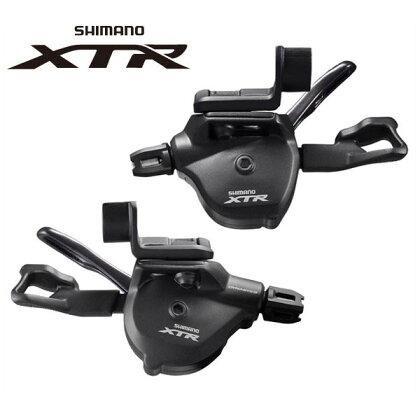 シマノXTRシフトレバーSL-M9000-I左右レバーセット2/3X11S【SHIMANOXTR】